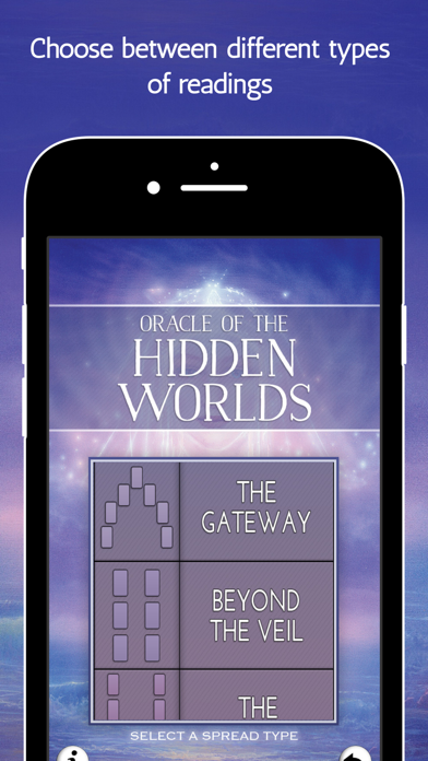 Screen Shot Oracle of the Hidden Worlds 4