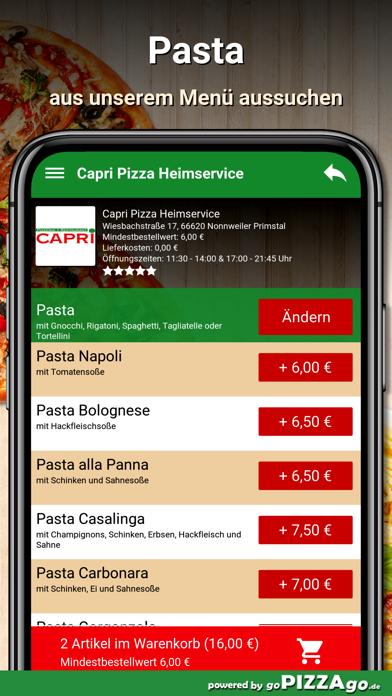Capri Nonnweiler Primstal screenshot 5