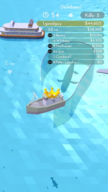 Fishingnet 3D: Battle io game screenshot-8