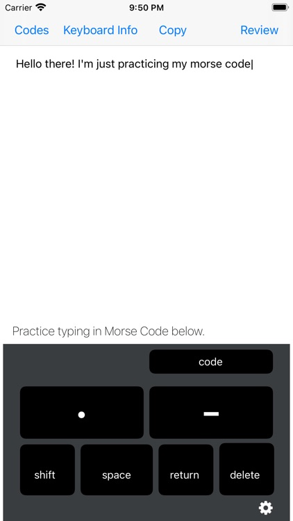 Morse Code Keys screenshot-0
