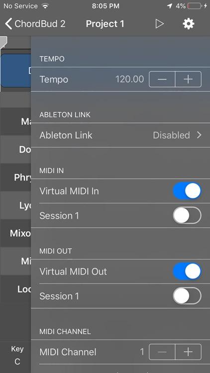 ChordBud 2 AUv3 MIDI Sequencer screenshot-5