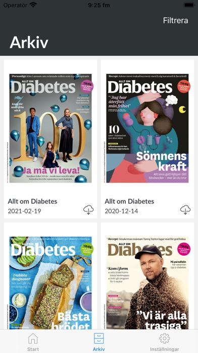 Allt om Diabetes Screenshot