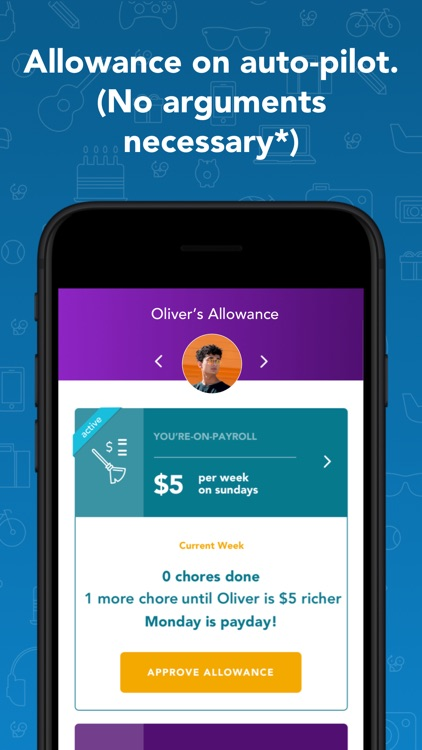 Goalsetter: a family money app screenshot-8