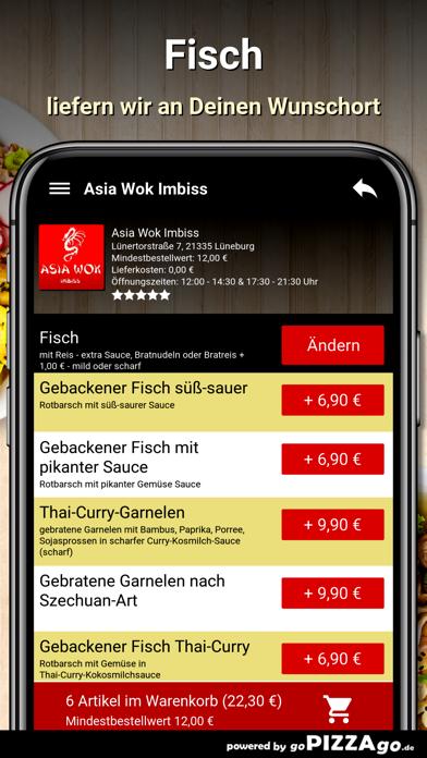 Asia Wok Imbiss Lüneburg screenshot 6