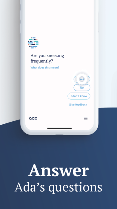 messages.download Ada – check your health software