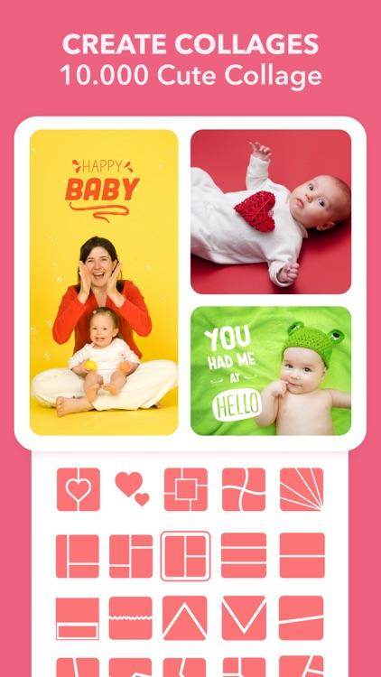 Baby Journal - Photo Editor screenshot-3