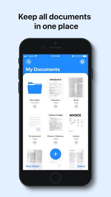uScan - PDF Document Scanner screenshot-5