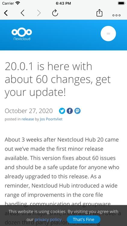 CloudNews - Feed Reader screenshot-4