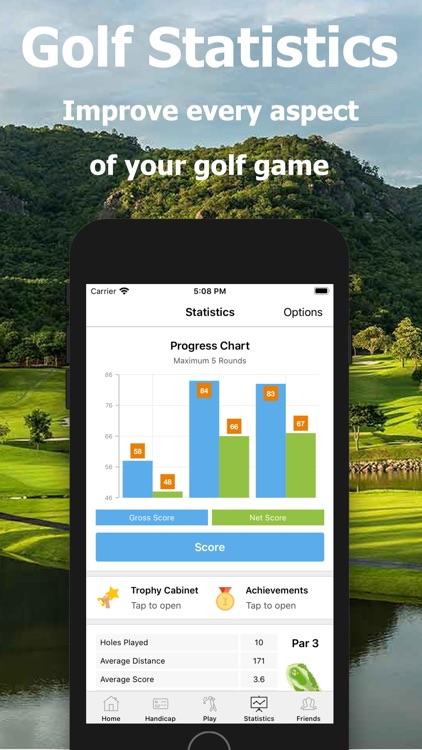 Golf Handicap - Online Golf screenshot-4