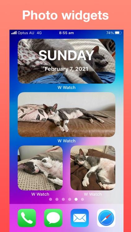 Widget Watch, Photo Calendar +
