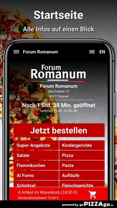Forum Romanum Kassel Pizza screenshot 2