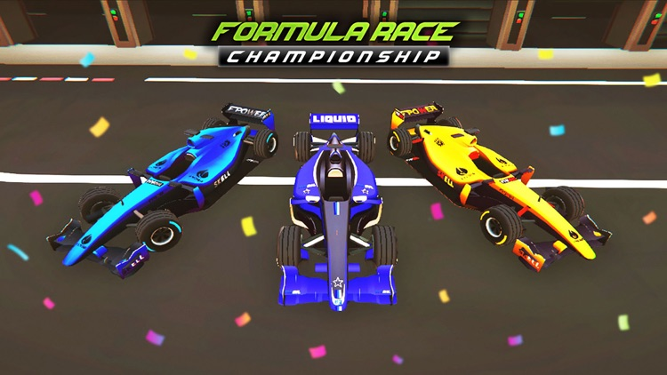 Mega Formula Cars - 3D Racing screenshot-7