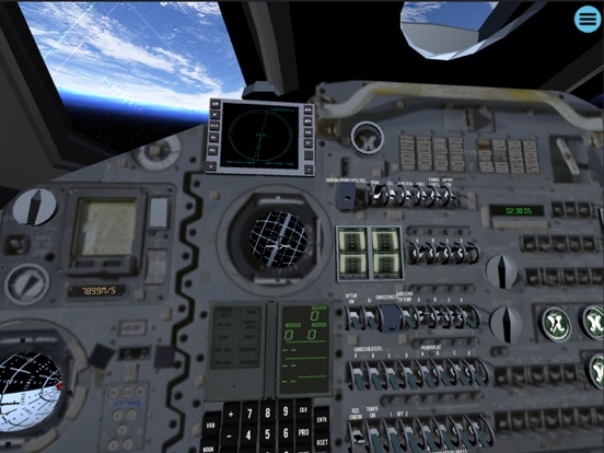 Space Simulator iPad app afbeelding 4