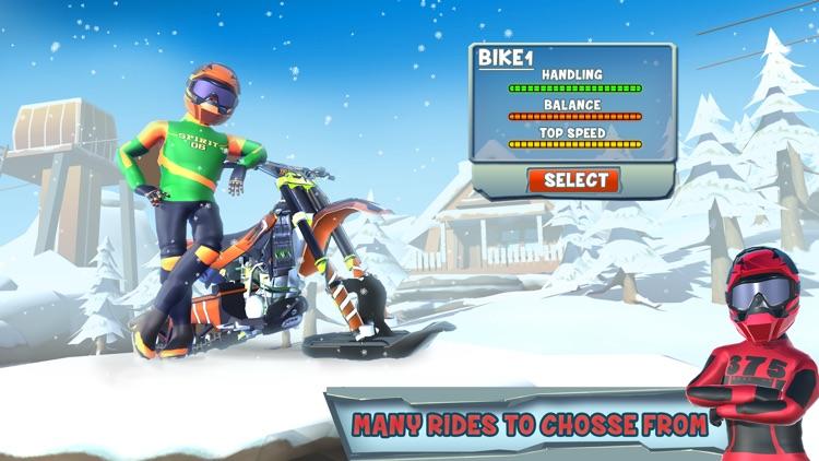 Snow Bike Racing Game screenshot-6