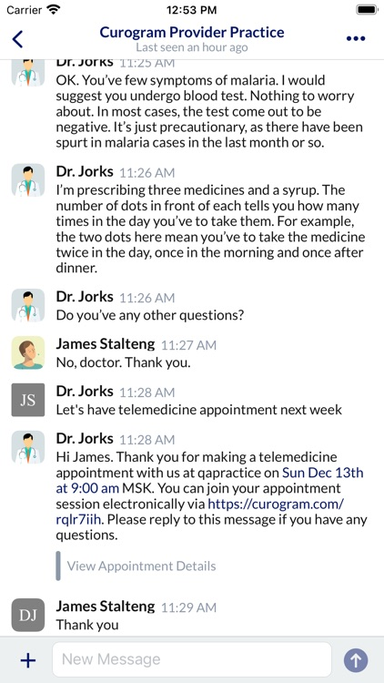 Sick? See a doctor in seconds