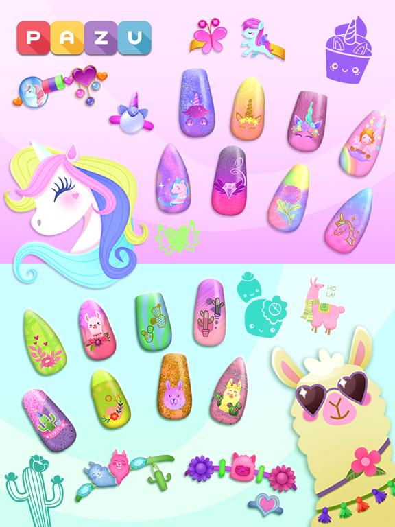 子供のためのネイルアートサロンゲームのおすすめ画像3