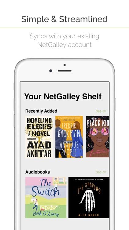 NetGalley Shelf