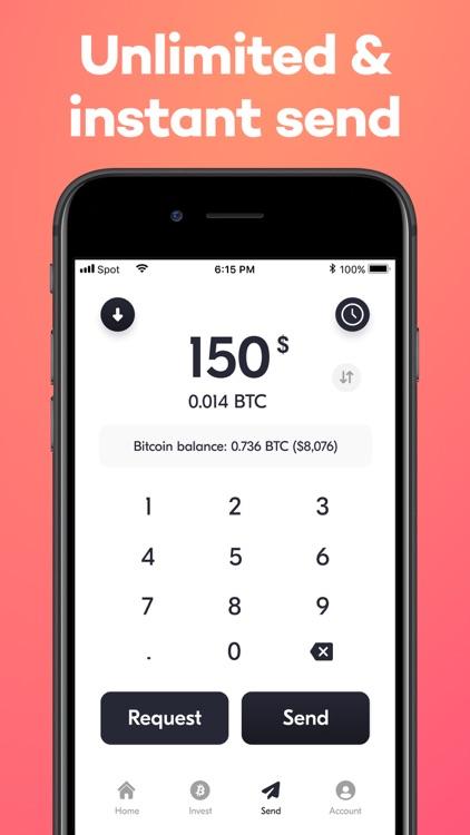 Buy Bitcoin - Spot Wallet app screenshot-5