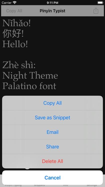 Pinyin Typist screenshot-4
