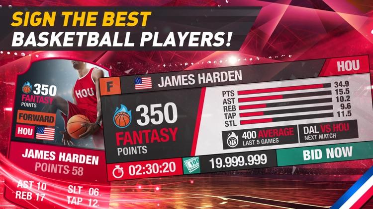 Basketball Fantasy Manager New screenshot-4