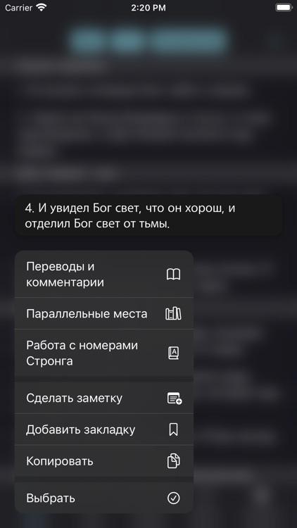 Учебная Библия screenshot-7