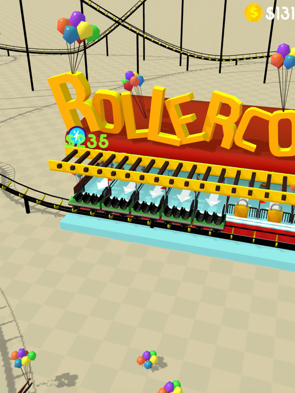 Hyper Roller Coaster screenshot 10