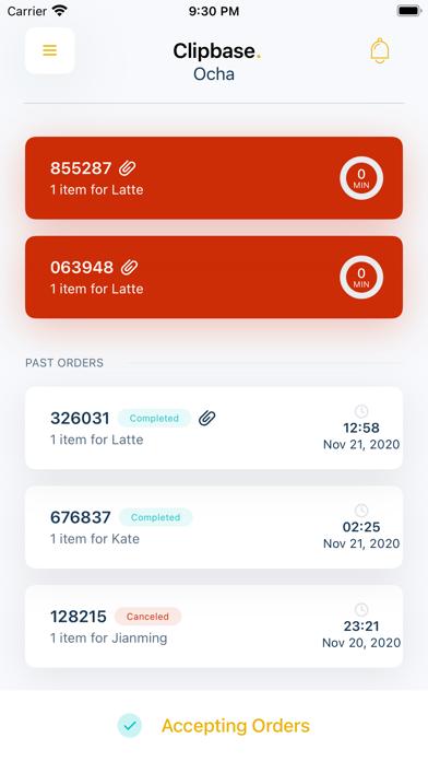 Clipbase Merchant Screenshot
