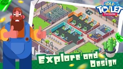 Toilet Empire TycoonCaptura de pantalla de2