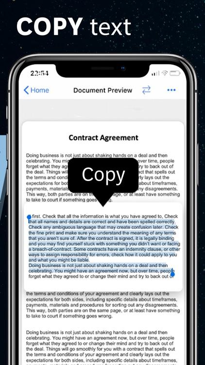 Scanner app Scan Documents PDF