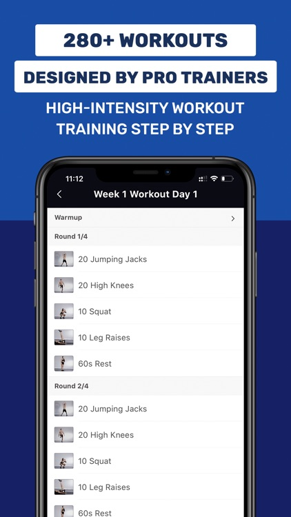 Daily Workout App by Fit5 screenshot-3