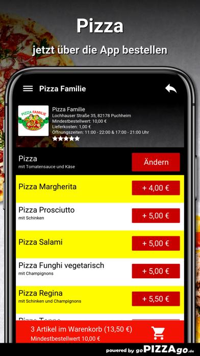 Pizza Familie Puchheim screenshot 5