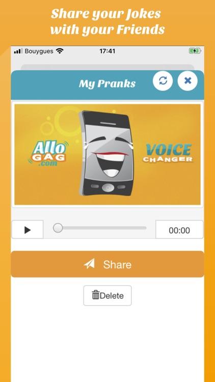 Call Voice changer Allogag screenshot-4