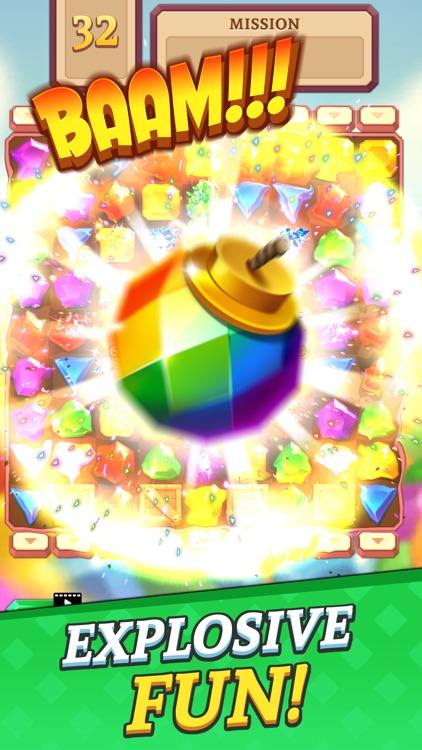 Jewels & Gems Blast screenshot-3