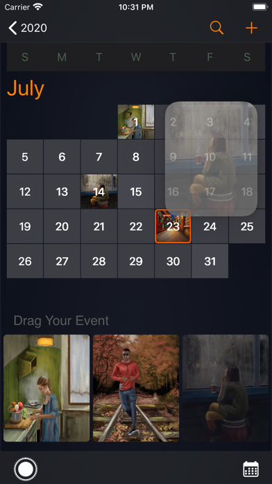 PickCalendar screenshot 2