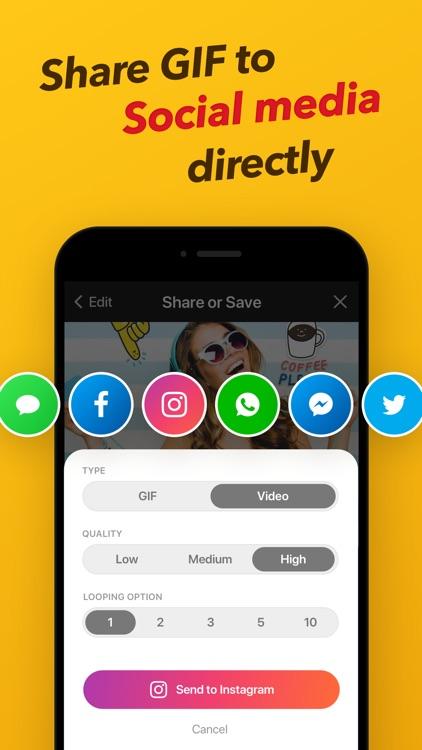 GIF Maker - ImgPlay screenshot-7