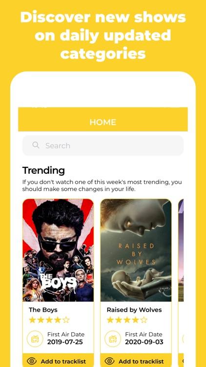 I've seen it – TV Tracking screenshot-3