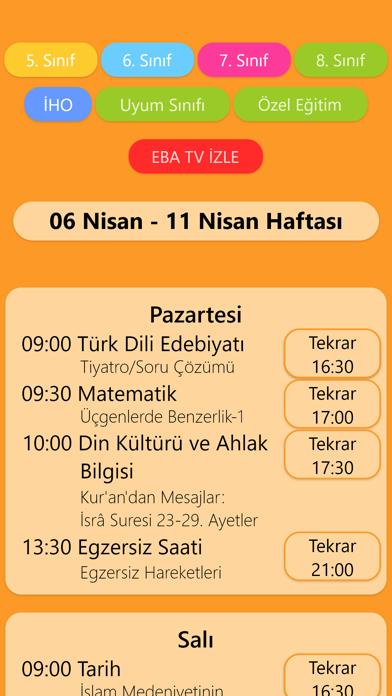 Eba Tv Ders Programı – Canlı 3