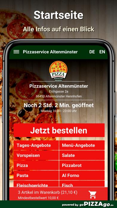 Pizzaservice Altenmünster screenshot 3