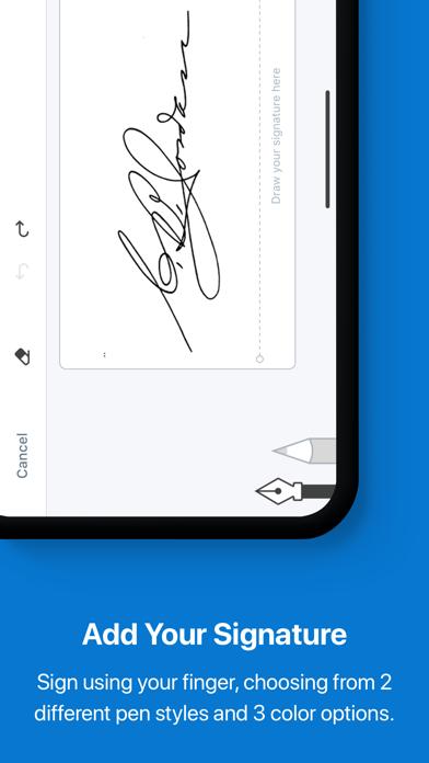 signNow: pdf document signer Screenshot