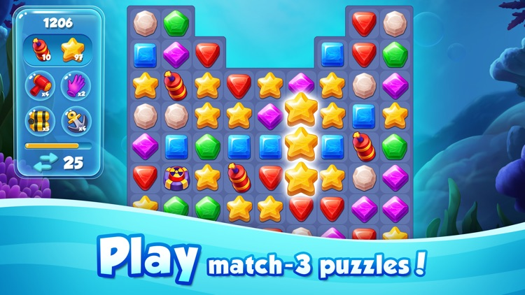 Aqua Blast: Puzzle Adventure screenshot-3