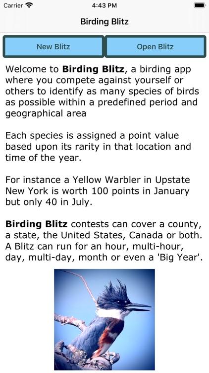 Birding Blitz