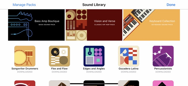 ‎GarageBand Screenshot