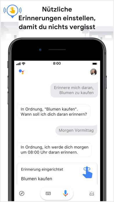 Google AssistantScreenshot von 6