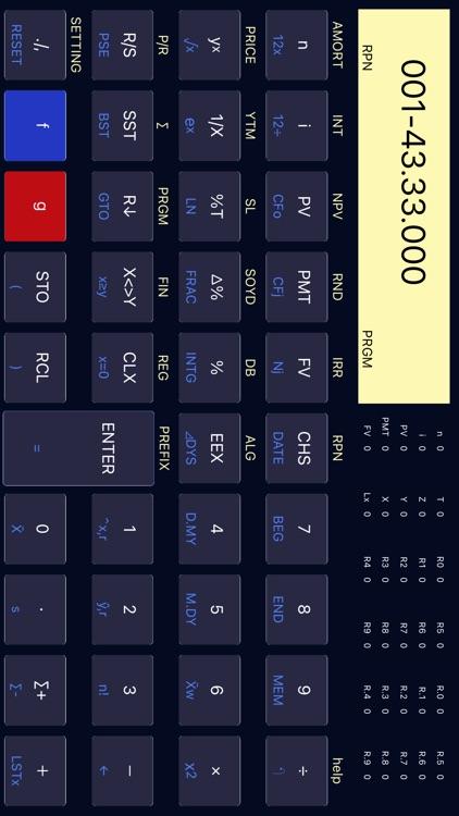 12C Platinum Calculator