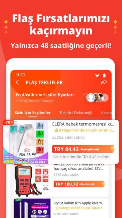AliExpress Shopping App iphone ekran görüntüleri