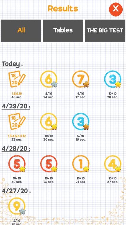 Multiplication games for kids! screenshot-4