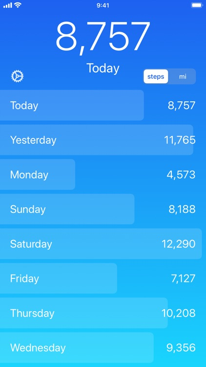 Steps – Step Counter, Activity