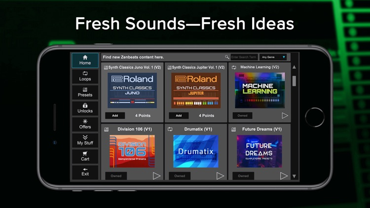 Roland Zenbeats screenshot-6