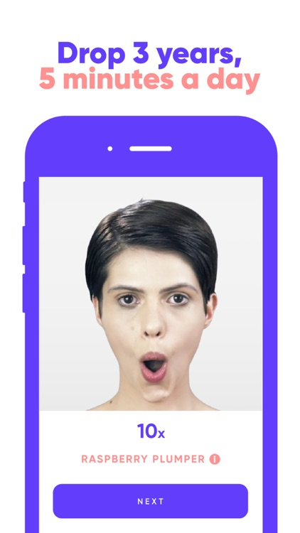 Face Yoga Face Exercises screenshot-0