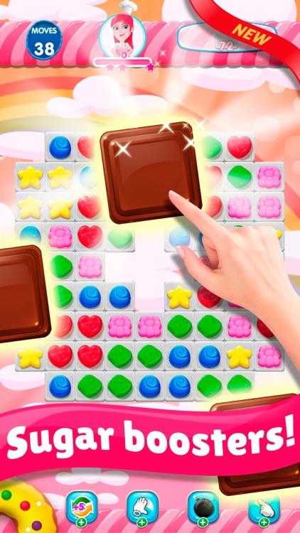 Sweet Sugar Blast Match 3 screenshot-5